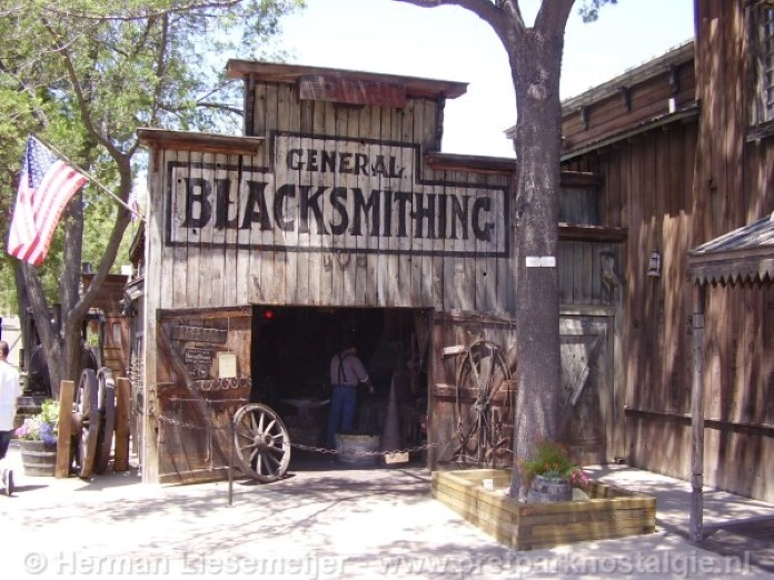 General Blacksmith Knott's Berry Farm