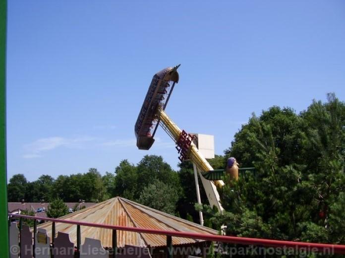 Komt de Flying Cloud terug in Attractiepark Slagharen?
