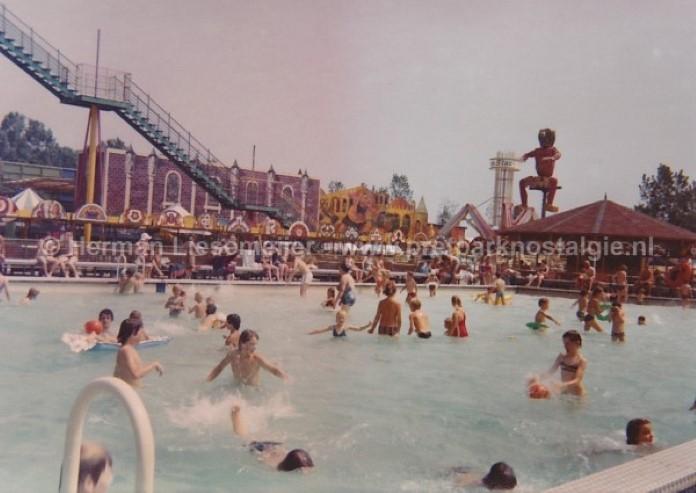 Zwembad Slagharen jaren 70