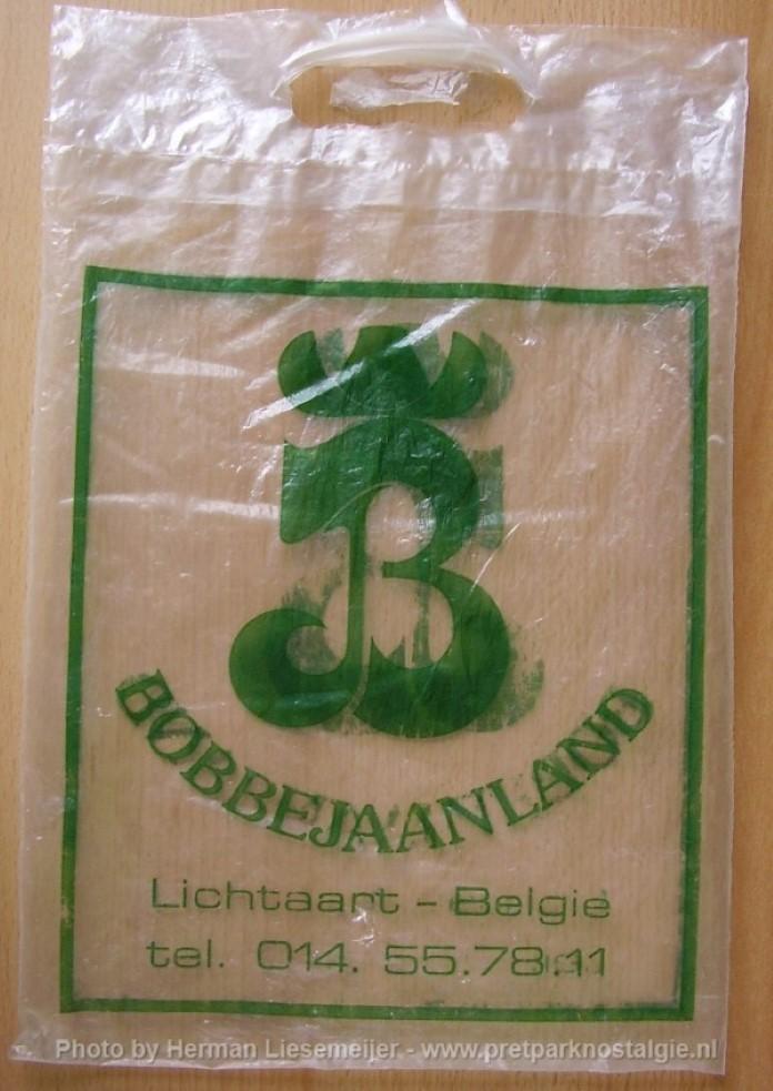 Bobbejaanland snoeptas uit 1982