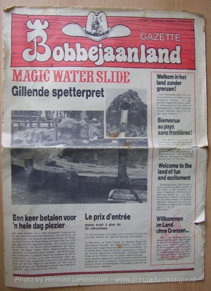Bobbejaanland Gazette