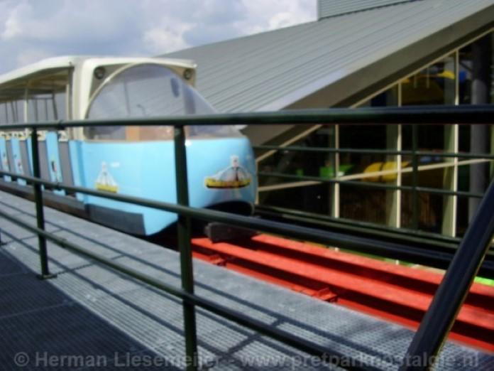 Treinstel uit 1981 monorail Slagharen