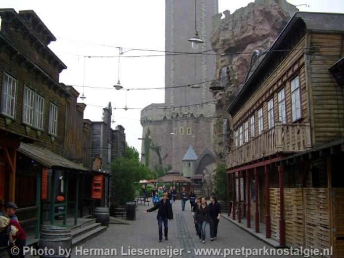 Phantasialand Silver City en Mystery Castle