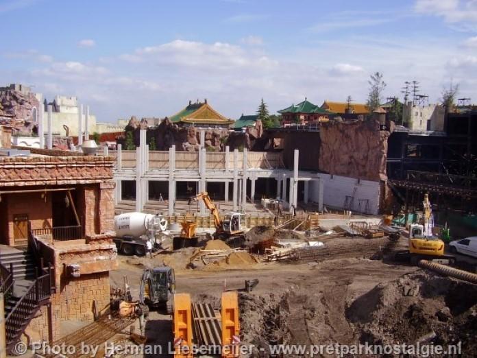 Phantasialand Chiapas in aanbouw