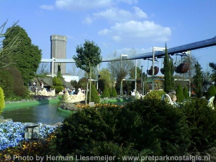 Phantasialand Gondelbahn en Walzertraum