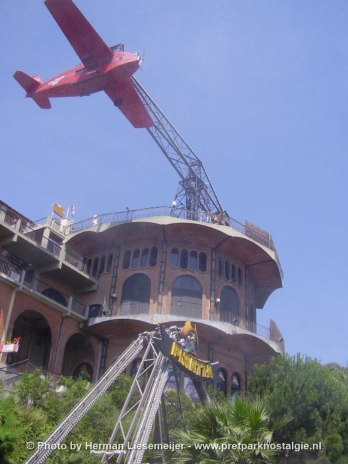 Aviòn Tbidabo Barcelona