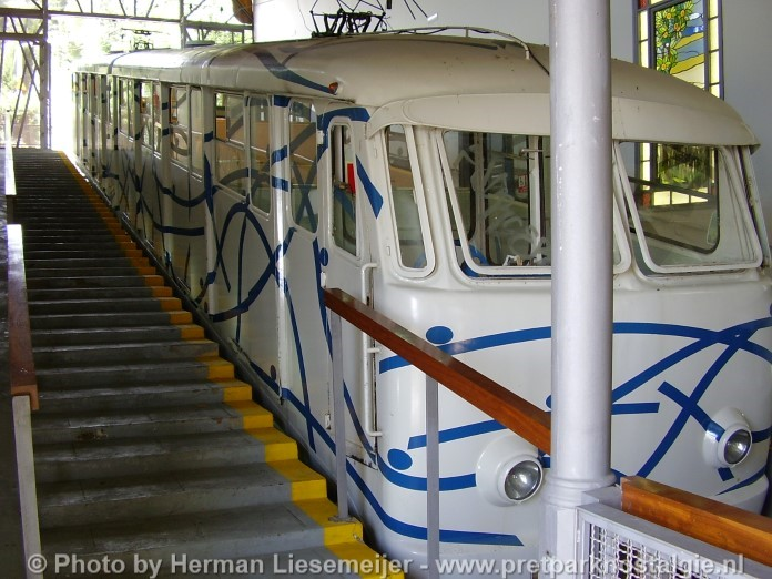 Kabelspoorweg (funicular) Tibidabo Barcelona