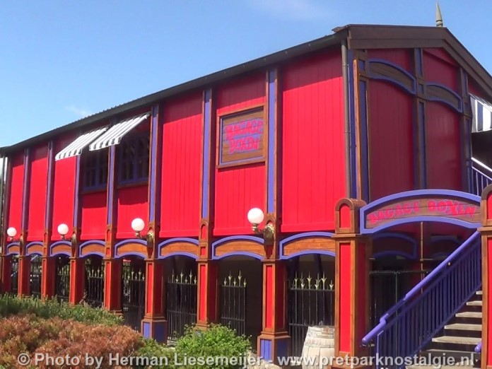 Oud station kleine monorail Ponypark Slagharen