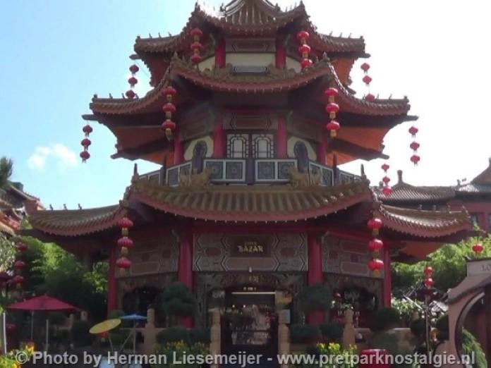 Phantasialand Pagode Chinatown