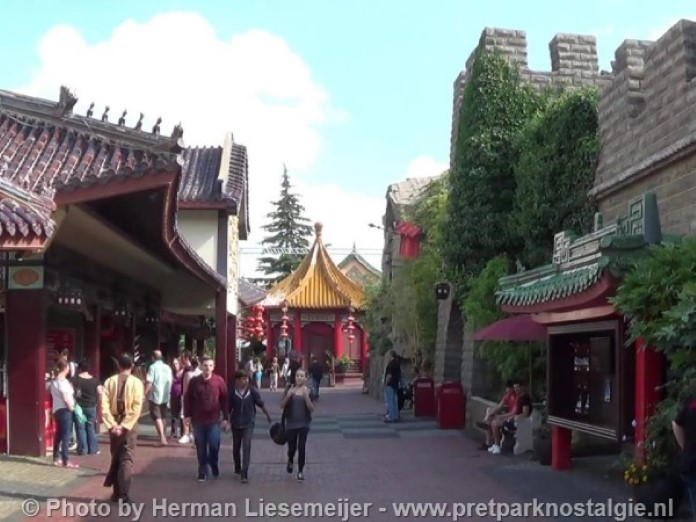 Phantasialand Chinatown - Ingang Geister Rikscha