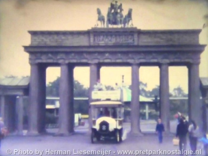 Phantasialand Brandenburger Tor Alt Berlin 1985