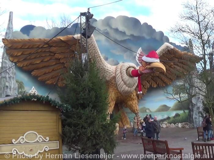 Efteling - Vogel Rok tijdens Winter Efteling