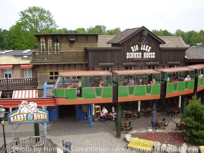 Monorail Slagharen