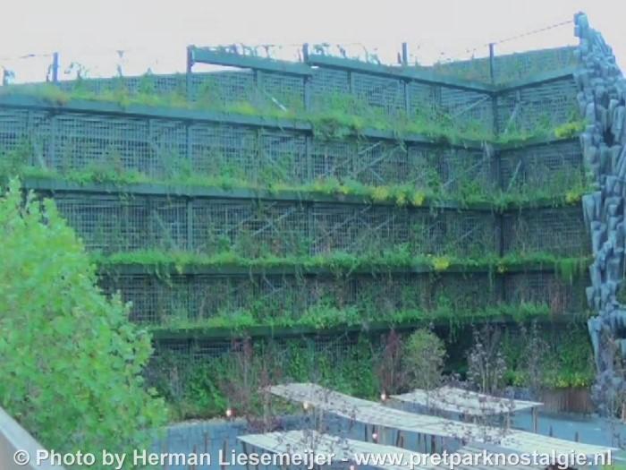 Phantasialand plantenwand Klugheim