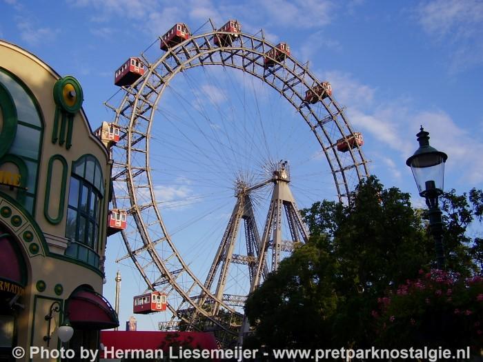 Het reuzenrad van Wenen