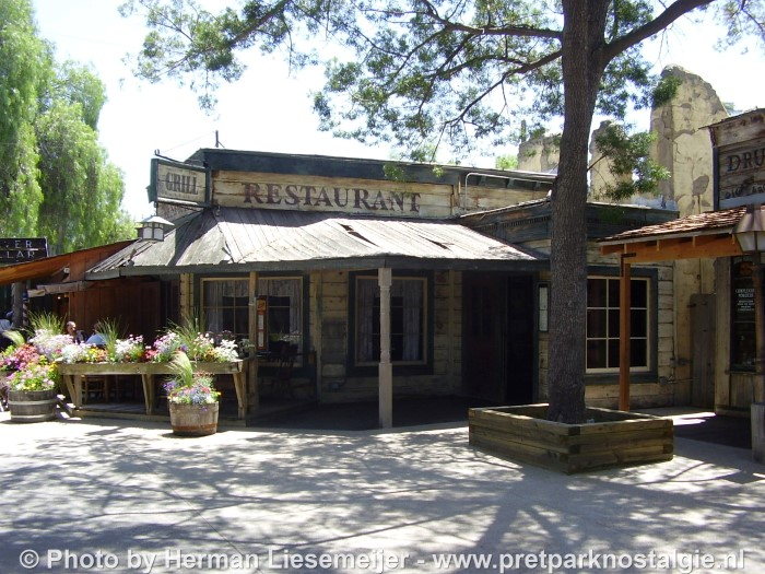 Knott's Berry Farm - Ghost Town & Grill Restaurant