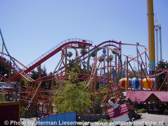 Knott's Berry Farm - Rollercoasters