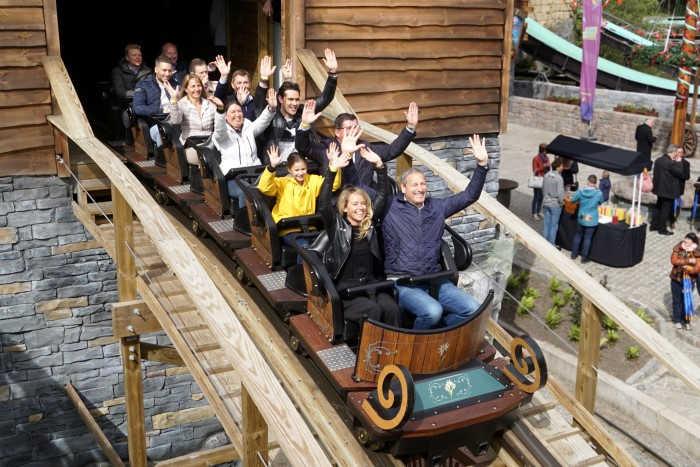 Heidiland - Plopsaland de Panne - opening Heidi The Ride met Gert Verhulst