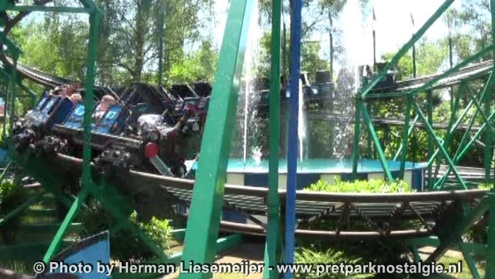 "Freizeit-Land Geiselwind - Mack powered coaster ""Blauer Enzian"""