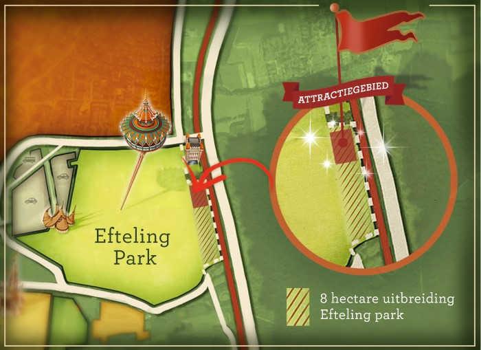Uitbreiding Efteling en nieuwe attractie in 2020