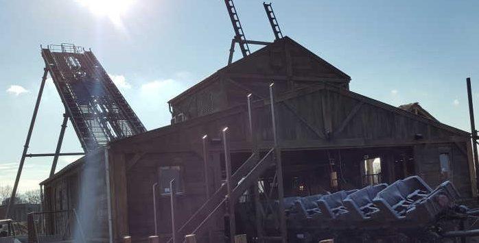 Tweestryd, de nieuwe achtbaan in WILDLANDS