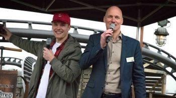 Achtbaan Wildlands geopend door Enzo Knol