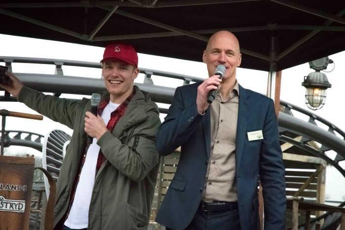 Achtbaan in Wildlands geopend door Enzo Knol