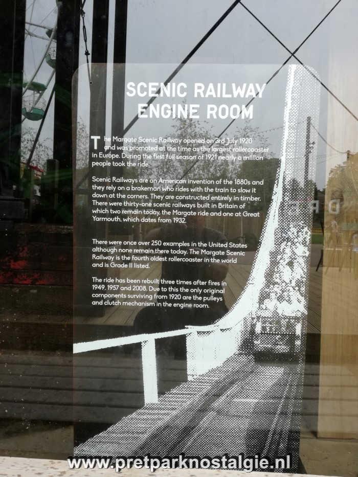 Dreamland Margate - Scenic Railway Engine Room