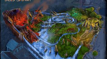 De Boomstammetjes Plopsaland wordt Dino Splash