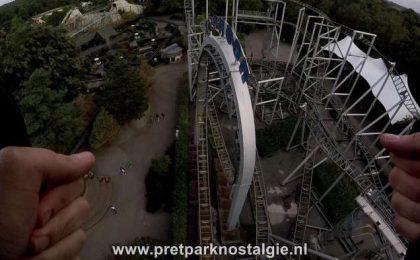 Filmverbod Attracties - In de Typhoon in Bobbejaanland mag je met een GoPro in harnas filmen