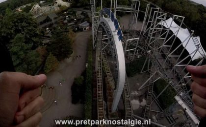 Filmverbod Attracties - In de Typhoon in Bobbejaanland mag je met een GoPro in harnas filmen