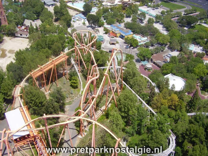Six Flags Magic Mountain – Het pretpark uit de film Rollercoaster