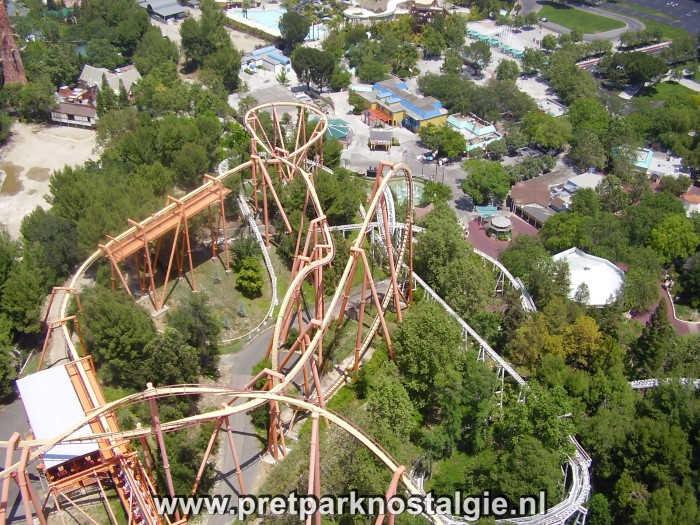 Six Flags Magic Mountain – Het pretpark uit de film Rollercoaster