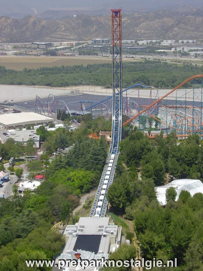 Six Flags Magic Mountain - Superman: Escape from Crypton