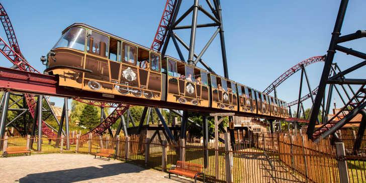 'Pioneer Express 63' Nieuw thema monorail Slagharen